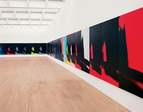 Shadows, 1978-79, Dia Art Foundation, Photo Bill Jacobson ©The Andy Warhol Foundation for the Visual Arts, Inc. © ADAGP, Paris 2015